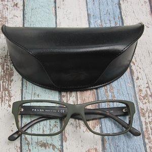 Italy Prada VPR16M UBF101 Unisex Eyeglasses/OLM159